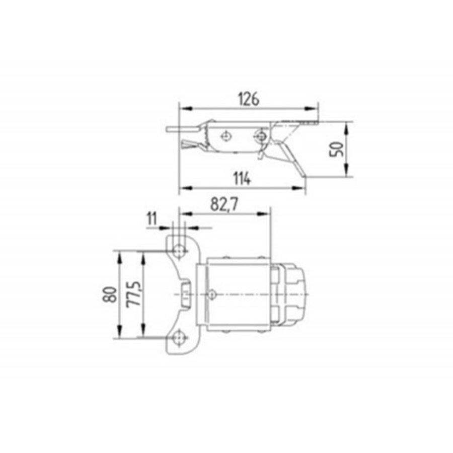 Fixeerpedaal voor zwaarlast 5 serie