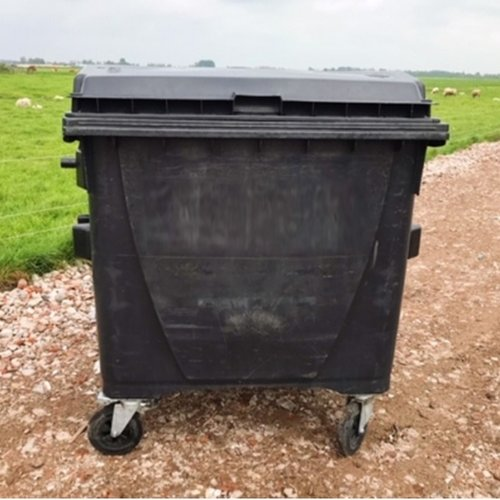 Kunststof afvalcontainer wielen