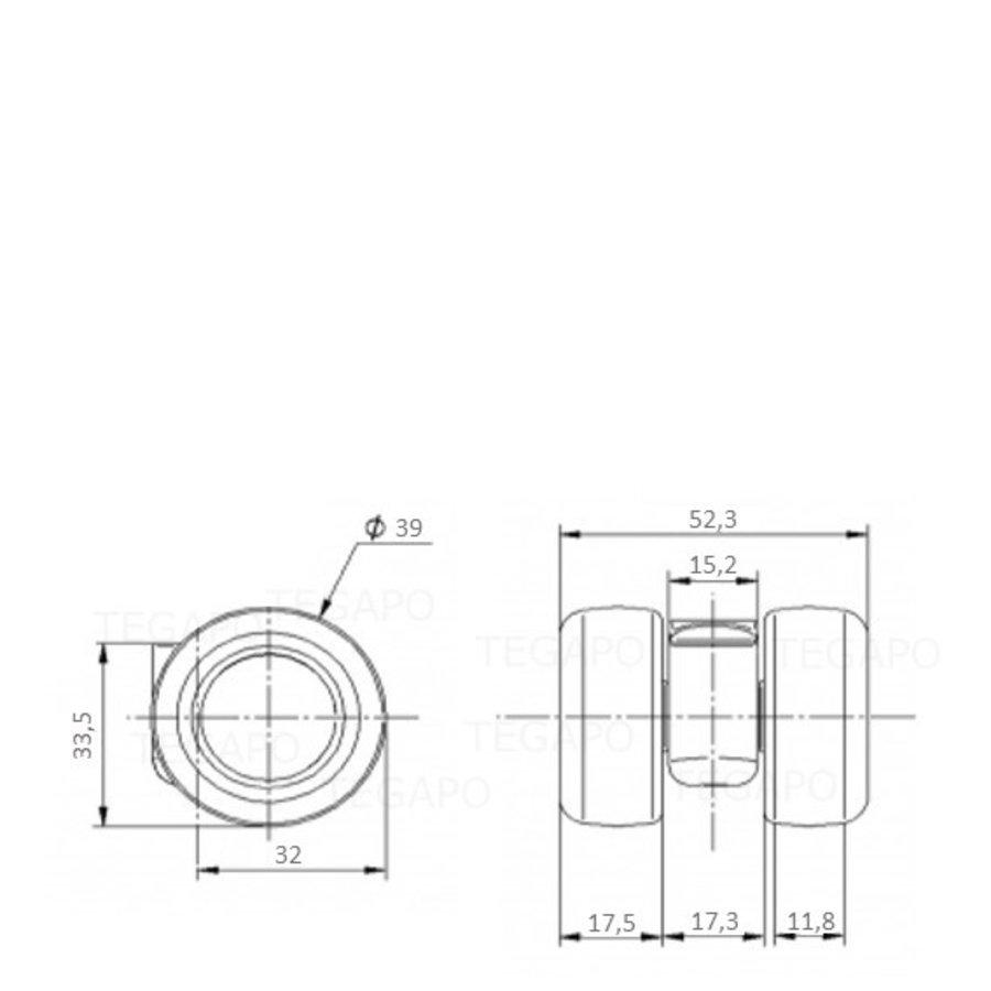 PATPLOW limited black softwiel 39mm
