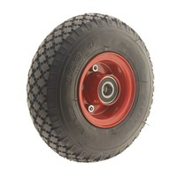 Luchtband 260mm rood extreme load asgat 20mm 6PR