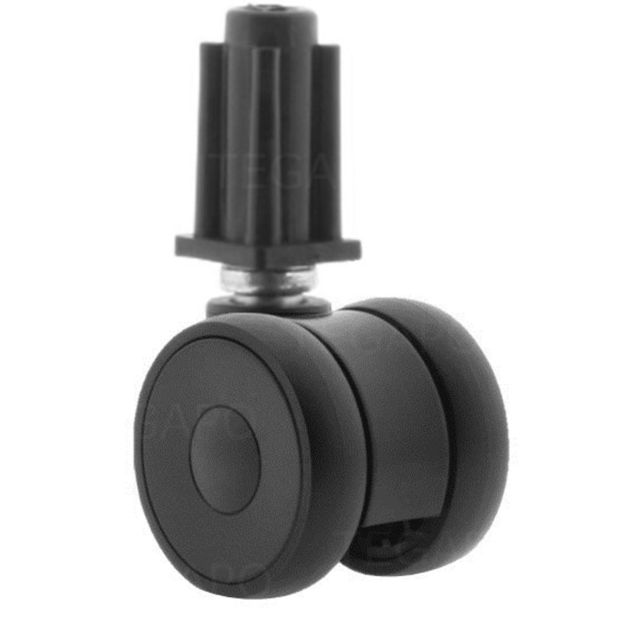 PAPU LOW wiel 50mm plug vierkant 17mm