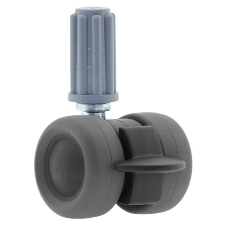 PATPLOW wiel 39mm plug 18mm met rem