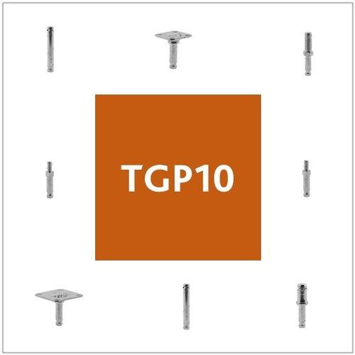 Stiften met TGP10 aansluiting