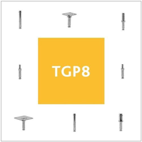 Stiften met TGP8 aansluiting