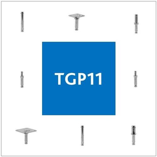Stiften met TGP11 aansluiting
