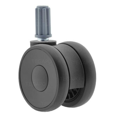 PAPU HIGH wiel 75mm plug rond 18mm