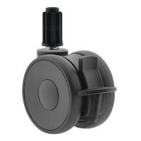 PAPU HIGH wiel 75mm plug rond 19mm met rem