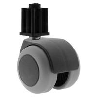 PPTP luxe wiel 50mm plug vierkant 23mm