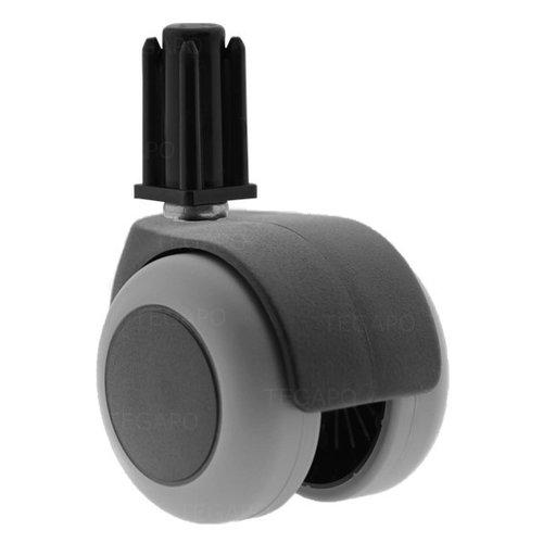 PPTP luxe wiel 50mm plug vierkant 17mm