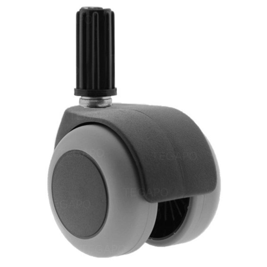 PPTP luxe wiel 50mm plug 16mm
