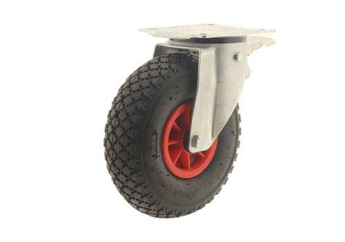 Zwenkwiel luchtband met rem 3KO