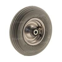 Luchtband grijs 200mm stalen velg asgat 20mm 4PR