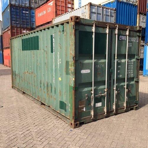 Zeecontainer wielen