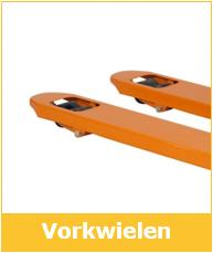 Vorkwielen palletwagen of pompwagen