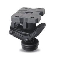 Hefvoet 208mm zwart