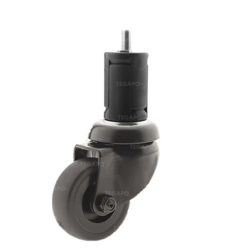 Zwenkwiel 50 black line 2TP ronde buis 36-39mm