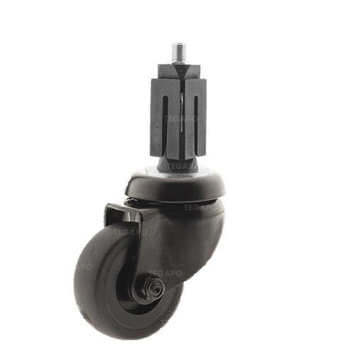 Zwenkwiel 50 black line 2TP vierkante koker 32-35mm