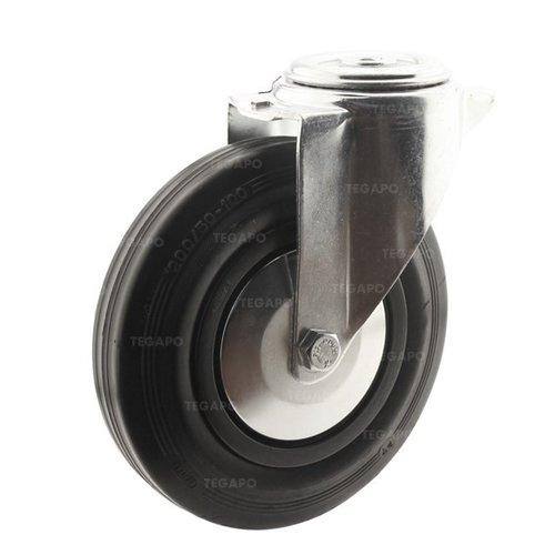 Zwenkwiel rubber 200 3KA boutgat