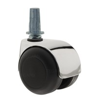 PPTP luxe wiel chrome metaal plug staal 13mm