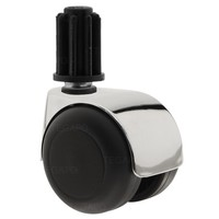 PPTP luxe wiel chrome metaal plug 23mm