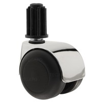 PPTP luxe wiel chrome metaal plug 22mm