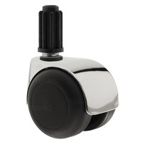 PPTP luxe wiel chrome metaal plug 19mm