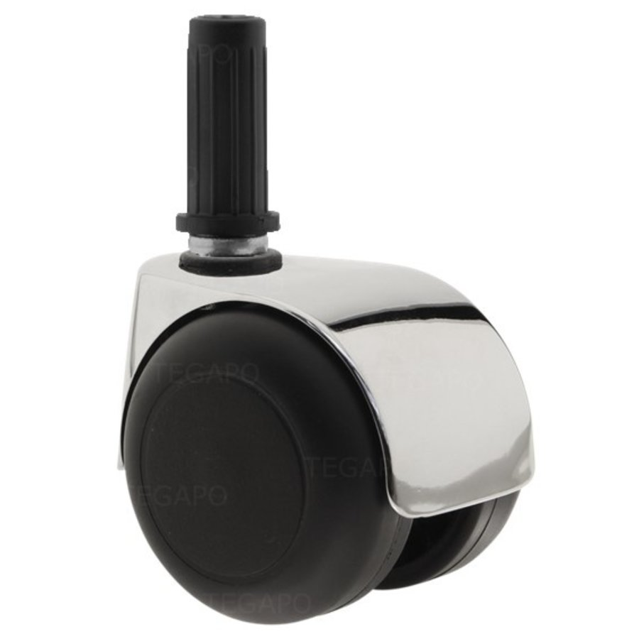 PPTP luxe wiel chrome metaal plug 14mm