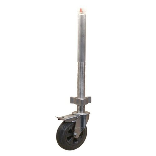 Stelwiel 200mm KO Aluminium spindel