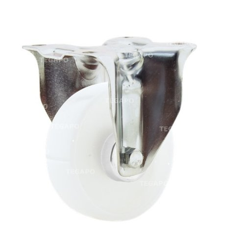 Bokwiel nylon 3NO 100 mm plaat