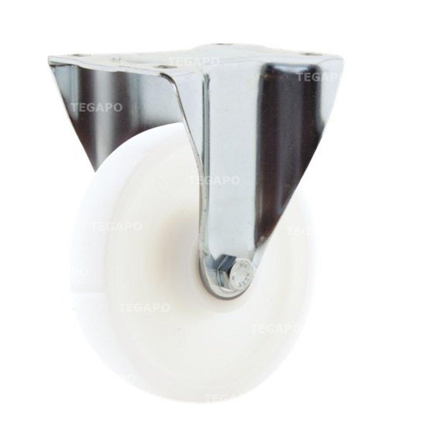Bokwiel nylon 3NO 160mm plaat