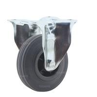 Bokwiel rubber 100 3KO plaat