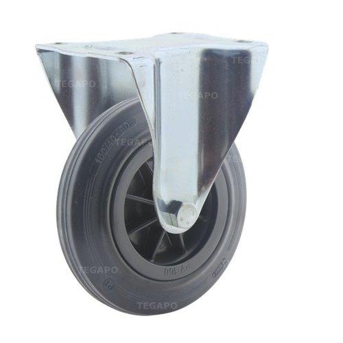 Bokwiel rubber 160 3KO plaat