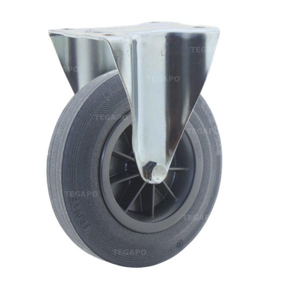 Bokwiel rubber 200 3KO plaat