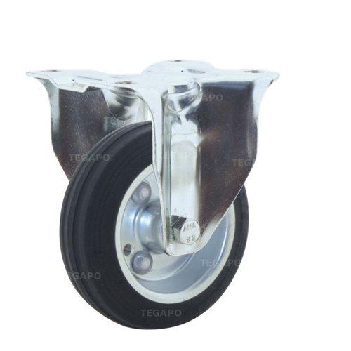 Bokwiel rubber 100 3SO plaat