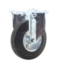 Bokwiel rubber 125 3SO plaat
