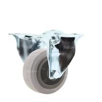 Bokwiel rubber indoor 80 3KO plaat