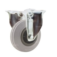 Bokwiel rubber indoor 100 3KO plaat
