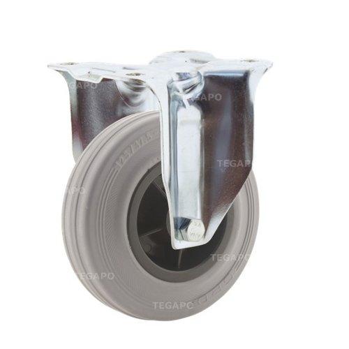 Bokwiel rubber indoor 125 3KO plaat