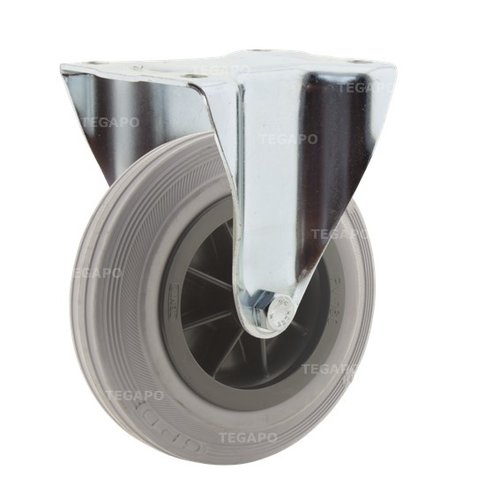 Bokwiel rubber indoor 160 3KO plaat