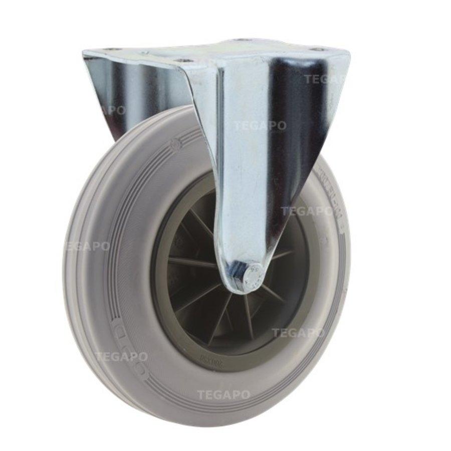 Bokwiel rubber indoor 200 3KO plaat