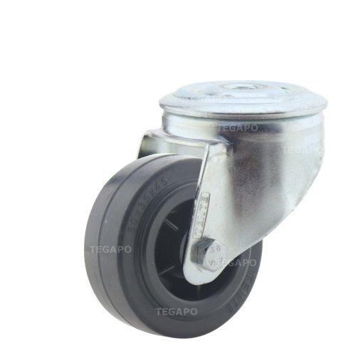 Zwenkwiel rubber 80 3KO boutgat