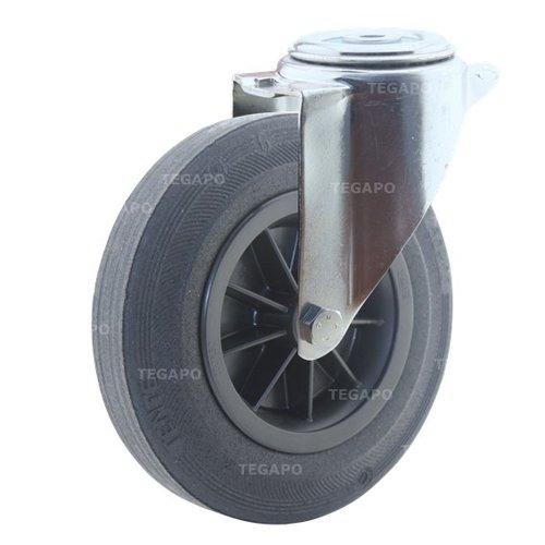 Zwenkwiel rubber 200 3KO boutgat