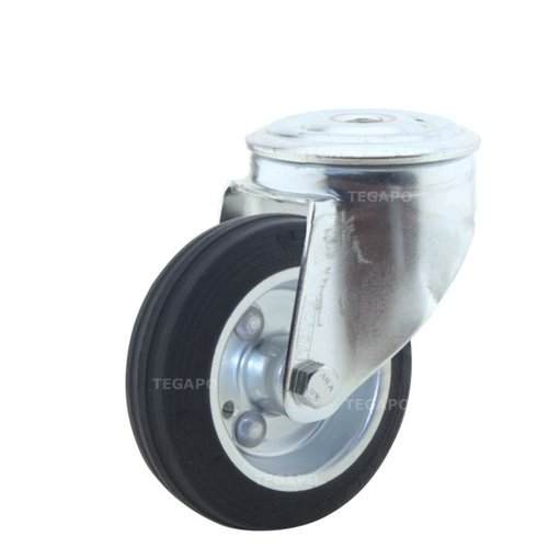Zwenkwiel rubber 100 3SO boutgat