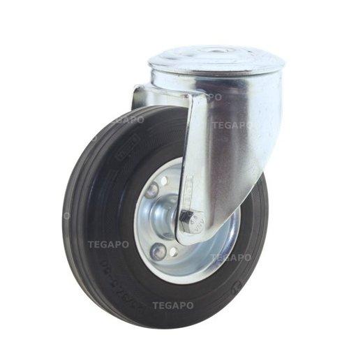 Zwenkwiel rubber 125 3SO boutgat
