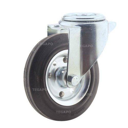 Zwenkwiel rubber 160 3SO boutgat