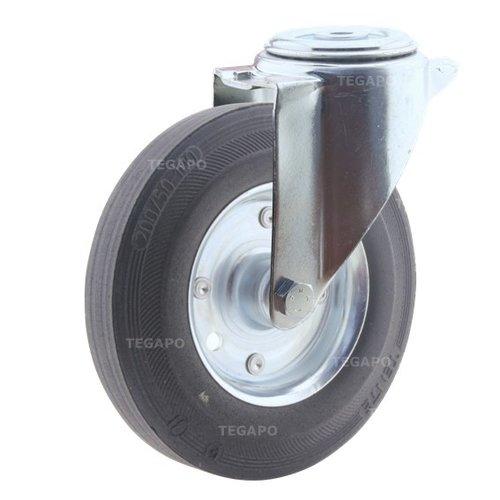 Zwenkwiel rubber 200 3SO boutgat