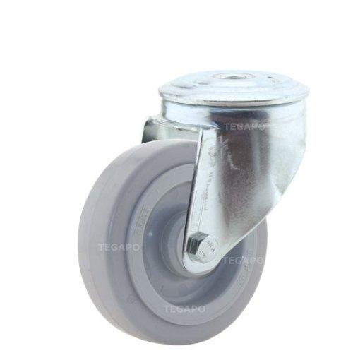 Zwenkwiel elastisch rubber 100 3KO boutgat