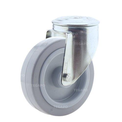 Zwenkwiel elastisch rubber 125 3KO boutgat