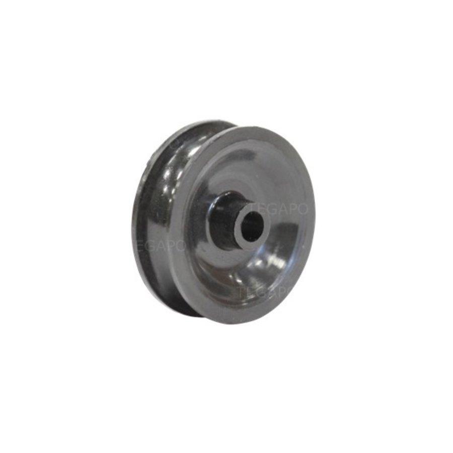 Groefwiel 32mm naaflengte 14mm