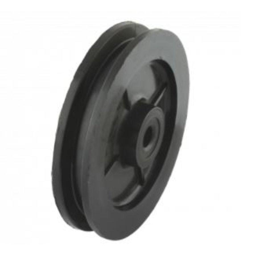 Groefwiel 50mm Polyamide 20kg